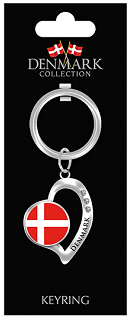 KEYRING DENMARK WITH STONES (6)