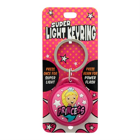 SUPER LIGHT KEYRING PRINCESS (2)