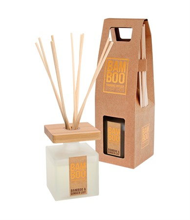 BAMBOO FRAGRANCE DIFFUSER BAMBOO & GINGERLILY