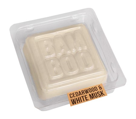 BAMBOO SCENT WAX CEDARWOOD & WHITE MUSK