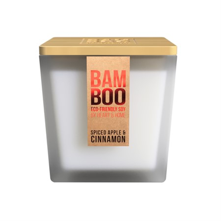 BAMBOO LARGE JAR SPICED APPLE & CINNAMON