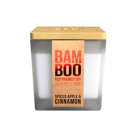 BAMBOO SMALL JAR SPICED APPLE & CINNAMON