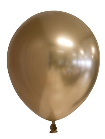 "BALLOONS 12"" MIRROR GOLD 6-P (6)"