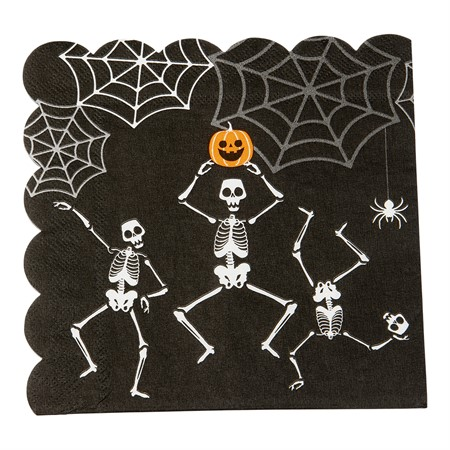 PAPER NAPKINS SKELETON 16-P (6)