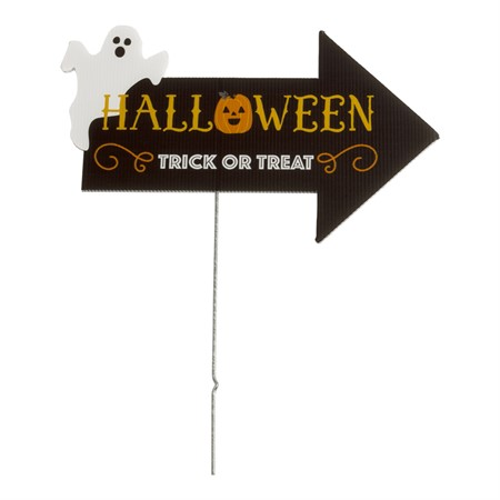 SIGN TRICK OR TREAT