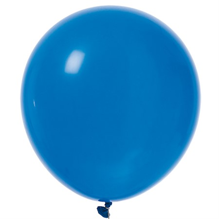 "BALLOONS 12"" ROYAL BLUE 100P"