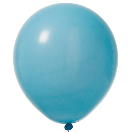 "BALLOONS 12""  LIGHT BLUE 100P"