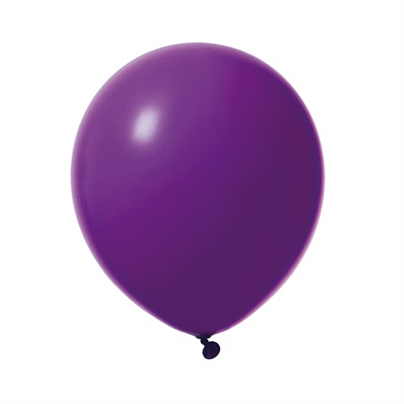 "BALLOONS 12"" VIOLET 10-P (6)"
