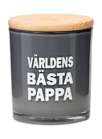 SCENTED CANDLE V.B PAPPA GRÅ