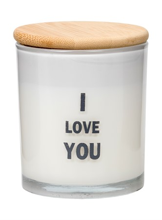 SCENTED CANDLE I LOVE YOU