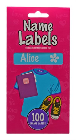 NAME LABEL ALICE (2)