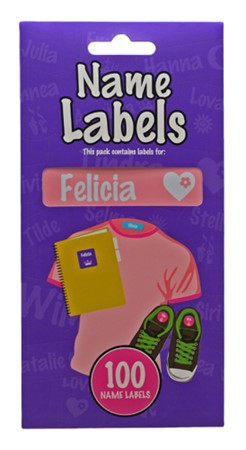 NAME LABEL FELICIA (2)