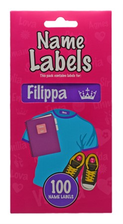 NAME LABEL FILIPPA (2)