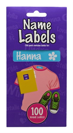 NAME LABEL HANNA (2)
