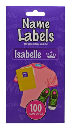 NAME LABEL ISABELLE (2)