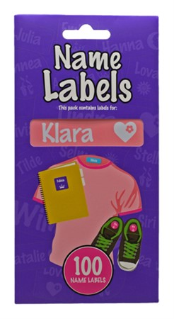 NAME LABEL KLARA (2)