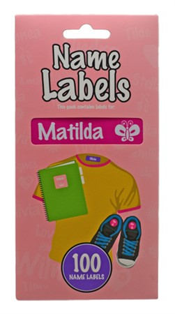 NAME LABEL MATILDA (2)