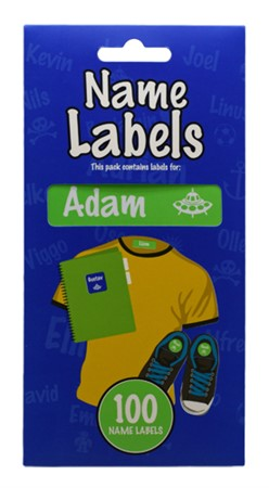 NAME LABEL ADAM (2)