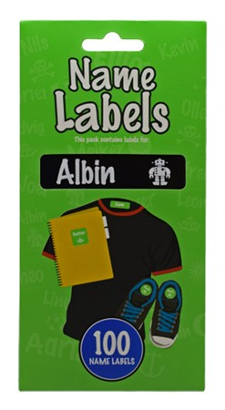 NAME LABEL ALBIN (2)