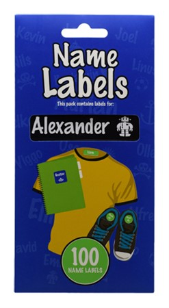 NAME LABEL ALEXANDER (2)