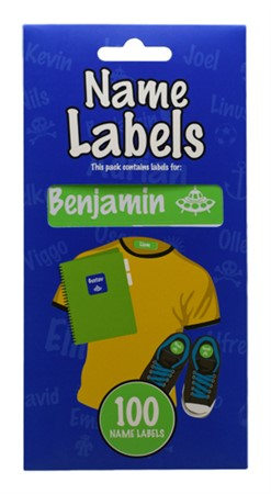 NAME LABEL BENJAMIN (2)