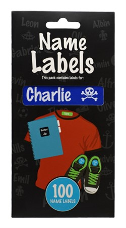 NAME LABEL CHARLIE (2)
