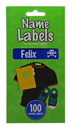 NAME LABEL FELIX (2)