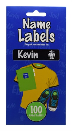 NAME LABEL KEVIN (2)