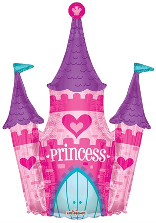 FOIL BALLOON PRINCESS CASTLE 91 CM (6)