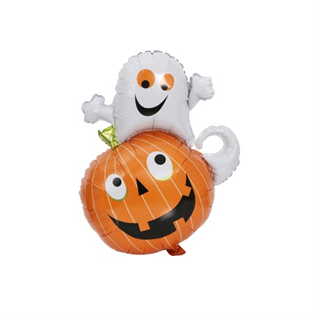 FOIL BALLOON PUMPKIN & GHOST 64 X 80 CM (6)