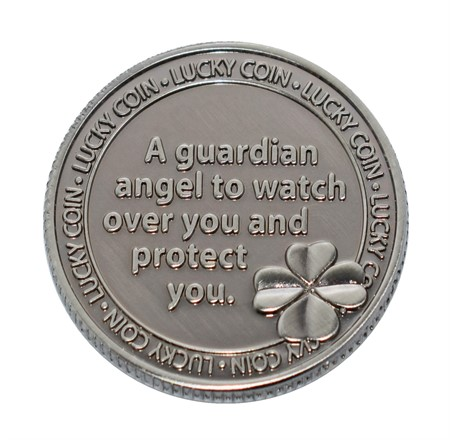 "LUCKY COIN ""GUARDIAN ANGEL"" (5)"
