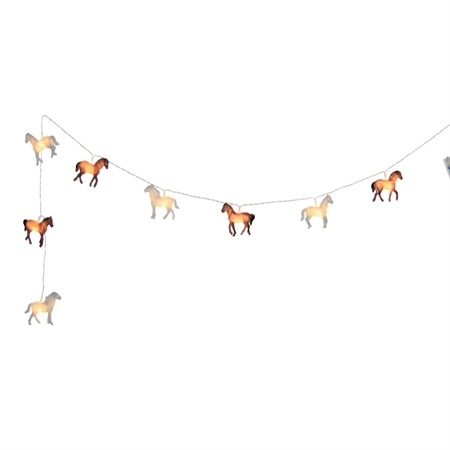 STRING LIGHT HORSE