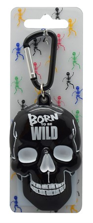 SCULL KEYRING BORN TO BE WILD (3)
