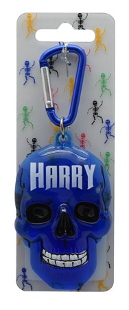 SCULL KEYRING HARRY (3)