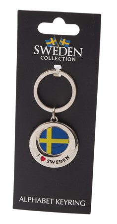 KEYRING I LOVE SWEDEN (6)