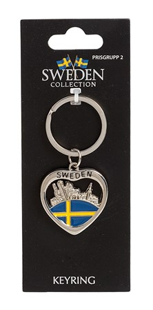 KEYRING SWEDEN HORSE/CITY (6)
