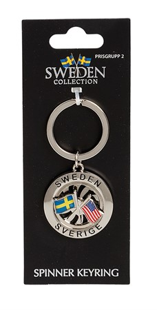 FRIENDSHIP KEYRING SWE/USA (6)