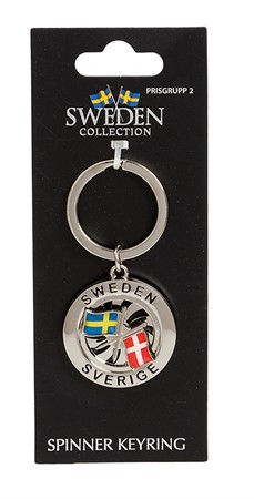 FRIENDSHIP KEYRING SWE/DEN (6)