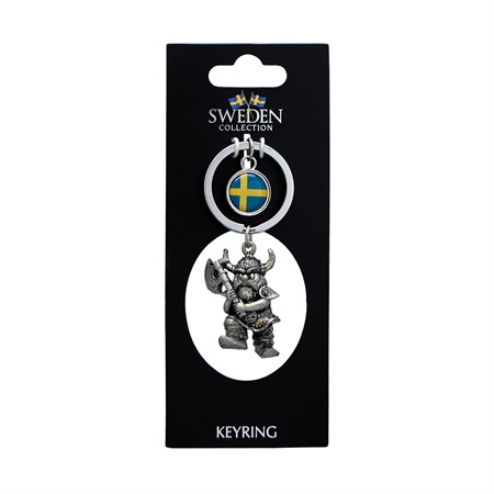 KEYRING SWEDEN 3D VIKING AXE (6)