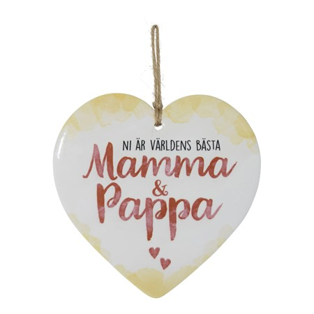 ENJOY HEART MAMMA & PAPPA (SE)