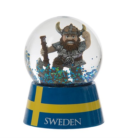 SNOWGLOBE VIKING WITH AXE AND GOLD (6)