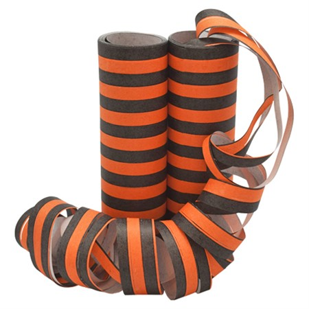 SERPENTINES BLACK/ORANGE 2-P (6)