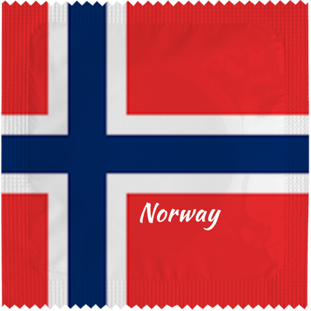 CONDOM NORWAY FLAG (5)