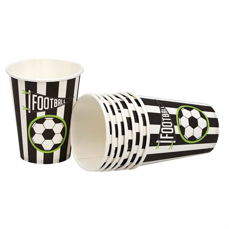 PAPER CUPS FOOTBALL 8-P (6)