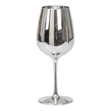 WINE GLASS SILVER