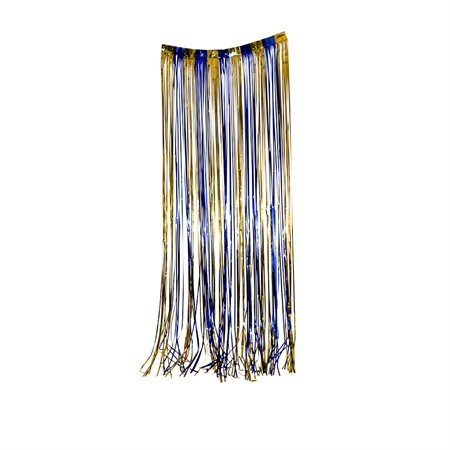 DOOR CURTAIN BLUE AND GOLD 92 x 240 CM (6)
