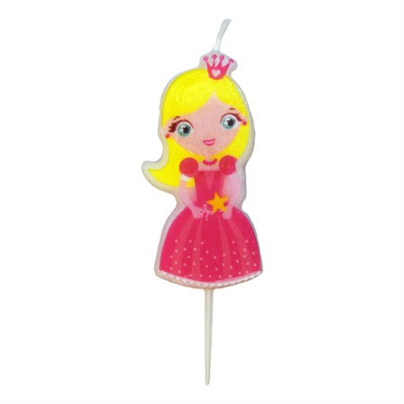 TOOTHPICK CANDLE PRINCESS GIRL (6)