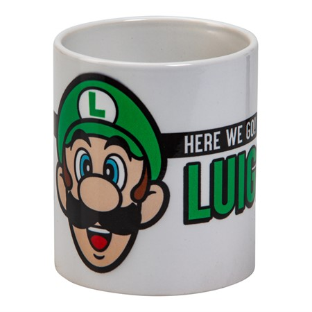 MUG LUIGI (HERE WE GO)