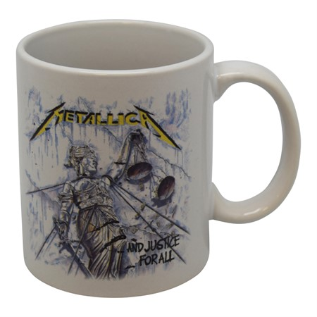 "MUG METALLICA ""JUSTICE FOR ALL"""