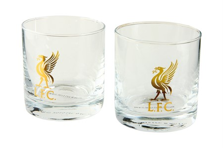 WHISKEY GLASS LIVERPOOL 2-PACK